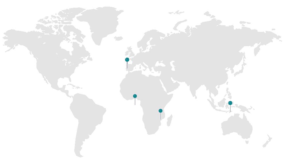 Moçambique | São Tomé e Príncipe | Timor-Leste | Portugal