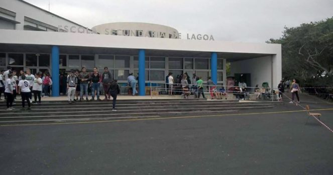 Aulas de Empreeendedorismo na Escola Secundária de Lagoa