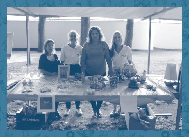 Este voucher permite que os voluntários MOVE ajudem a Dona Graça com os registos contabilísticos de forma a conseguir mostrar os seus trabalhos em várias feiras.